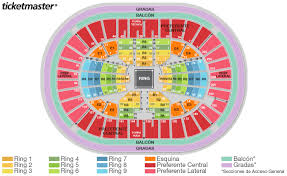 Arena Mexico Lucha Libre Seating Chart