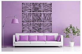 amazing sensational animal print wall decals couch sofa seating awesome ideas purple interior design the art