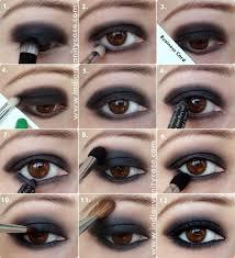 black eye shadow top 10 colors for brown eyes makeup