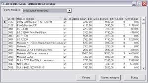 База данных Магазин мобильных новинок АРМ менеджера торговой  курсовая работа по програмированию