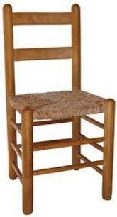 Silla comedor madera Duquesa 90 asiento de anea - enea