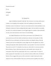 hs boston college course hero 3 pages tipping point essay docx