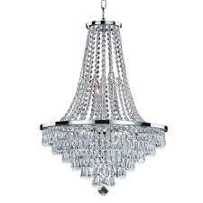 glow lighting chandeliers. Glow Lighting Vista 9-Light Crystal And Chrome Frame Chandelier Chandeliers L