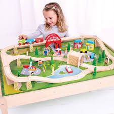 bigjigs services train set and table train set and table bigjigs train table bigjigs toys wooden train set childrens