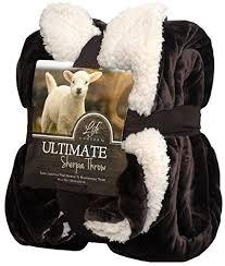 Ultimate Sherpa Throw Blanket