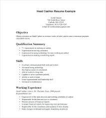 Fast Food Manager Resume Sample Fast Food Sample Resume Resume