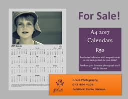 Personalized A4 2017 Calendars For Sale News