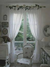 Shabby chic - curtains idea More