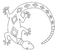 Small Picture Lizards coloring pages Bowl Art patterns Pinterest