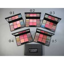 mac 18 colours eyeshadow makeup kit 01 cosmetics