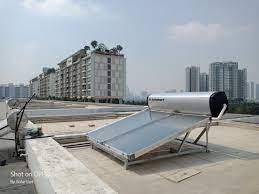 Hoàn thành máy nước nóng solahart 300L tại Quận 2 - TP.HCM