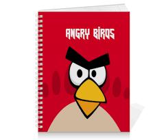 """Тетрадь на пружине """"<b>Angry Birds</b> (Terence)"""" #2483823 от Аня ..."""