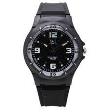 q q watches for men q q men watches for price q q men s black dial plastic strap watch vp58j005y