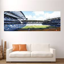 on giant wall poster art print with chelsea fc stamford bridge cfc stadium block giant wall art poster