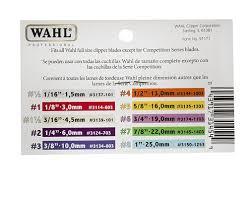 Wahl 5 Clipper Comb 5 8 Inch