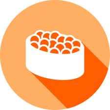 お寿司(イクラ)アイコン。 | 羊ワークスのブログ