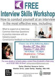 interview skills workshop earley crescent interview skills workshop