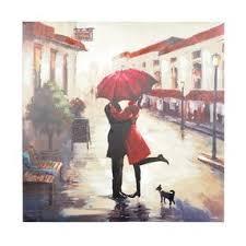 red umbrella couple canvas wall decor art print on couple with red umbrella wall art with red umbrella couple canvas wall decor art print by kirklands olioboard
