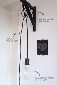 wall lighting ikea. DIY Handing Wall Light Lighting Ikea A