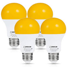 Led Yellow Bug Light Details About Lohas Amber Light Sensor Dusk To Dawn Led Bulbs Bug Light Bulb Yellow Led A19