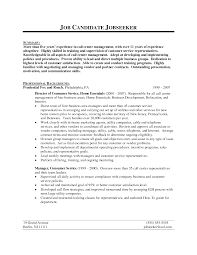 Objective Call Center Resume Objective