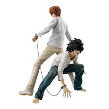 L T Construction Organisation Chart Death Note G E M Series Yagami Light L Two Pack