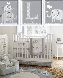 Elephant Grey And White Baby Nursery Simple Fantastic Classic Pinterest  Ideas Printable Alphabet