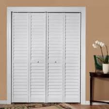 louvered bifold closet doors.  Louvered Home Fashion Technologies 36 In X 80 3 LouverLouver White PVC  Composite Interior BiFold Door To Louvered Bifold Closet Doors U