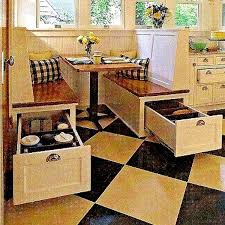 dining booth with storage. space saving booth style kitchen seating/dining tiny house.pins lots of house dining with storage c