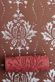patterned paint rollers roller design