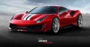 Ferrari 488 Pista The Most Powerful V8 In The History Of Ferrari Ferrari Com