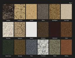 Granite Countertops Colors Kitchen Granite Countertop Color Options