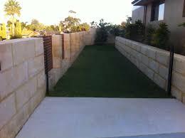 retaining walls perth limestone wall