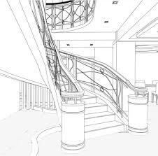interior design hand drawings. Pencil Sketching, Interior Design, Staircase Hand Drawing, Pencil, Hand, Design Drawings