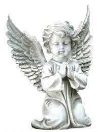 praying angel statue cherub statue