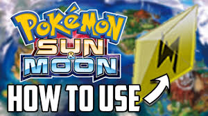Z Move Guide for Pokemon Sun and Moon – All Z Moves and Crystals  Competitive Tutorial! - YouTube