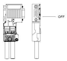 profibus connector  siemens pb connector bus connection for all other nodes on the profibus the feed cable should always be connected on the left a1 b1 the continuation cable should always be