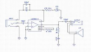 from schematic to protoboard building a simple lm386 guitar amp step 3 translating the schematic to the protoboard