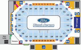 Ford Arena Beaumont Tx Seating Chart 2018 Sports Facilities Guide Beaumont Texas Connect Meetings