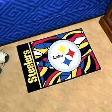 best home wonderful pittsburgh steelers rug at 4x6 com from pittsburgh steelers rug