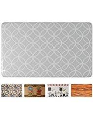 grey kitchen rugs. Art3d Premium Kitchen/Office Comfort Standing Mat Kitchen Rug, 18\ Grey Rugs