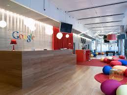 corporate office design ideas. Wonderful Design Impressive Corporate Office Design Ideas Google India Modern  Reception On I