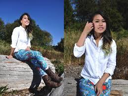 Natalie Ruth Fajardo Hollister Button Up Shirt Tjmaxx Printed