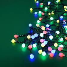240 Multifunction Led Christmas Tree Lights Multi Coloured 240 Led Berry String Lights Multi Function Multi Coloured