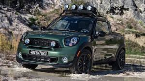 The Paceman Adventure pickup truck is the coolest Mini yet
