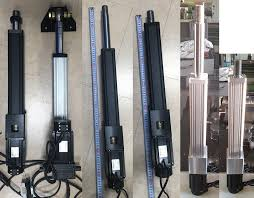 these are made in south korea and cost less than a normal ac motor with vfd and gearbox combo rotary actuator not linear and provide more thrust and load