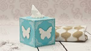 Decorating Boxes With Paper How to decorate a tissue box decoupage DIY By Catherine YouTube 22
