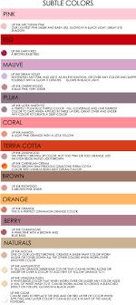 ... Color Q's  Color Recommendation  Subtle Colors