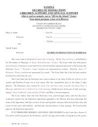 Print Divorce Papers Enchanting Basic Free Divorce Papers Printable Template Decree Form Final Forms