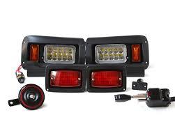 Club Car Lights Halogen Street Legal Led Light Kit For Club Car Ds Golf